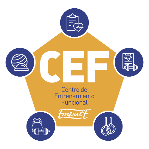 CEF Centro de Entrenamiento Funcional Logo